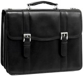 "McKlein Mckleinusa Flournoy 15"" Leather Double Compartment Laptop Briefcase -"