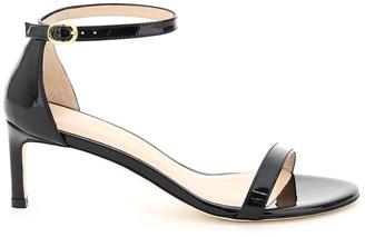 Stuart Weitzman Nunakedstraight Patent Leather Sandals