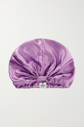 SILKE LONDON Silk Hair Wrap - Violet