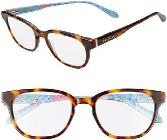 Lilly Pulitzer Sandbar 51mm Reading Glasses
