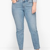 Talbots Slim Ankle Jeans - Diamond Dot