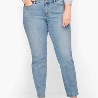 Talbots Slim Ankle Jeans - Diamond Dot