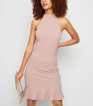 New Look AX Paris Halterneck Mini Bodycon Dress