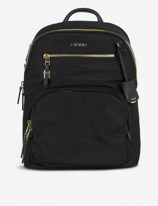 Tumi Carson leather backpack