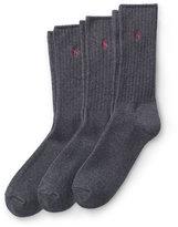 Ralph Lauren Classic Crew Sock 3-pack