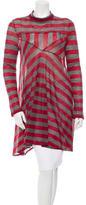 Balenciaga Striped Wool Tunic