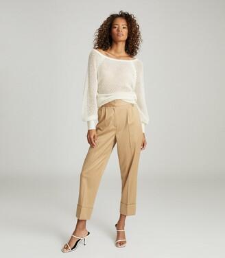Reiss Laurie - Open-knit Jumper in White