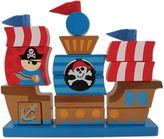 Stephen Joseph Pirate Wooden Stacking Toy Set