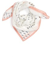 Women's Halogen Square Silk Scarf