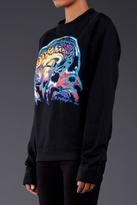 Christopher Kane Placement Screen Print Brain Sweatshirt