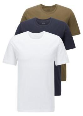 HUGO BOSS Three-pack of regular-fit cotton T-shirts