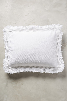 Anthropologie Matelasse Liora Shams, Set of 2 By in White Size S2QUEENSHM