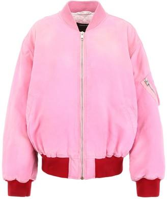 Calvin Klein Contrasting Trim Logo Bomber Jacket