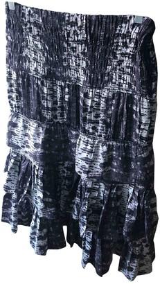Isabel Marant Pour H&m Grey Silk Skirt for Women