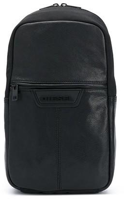 Diesel Logo Patch Crossover Strap Bag