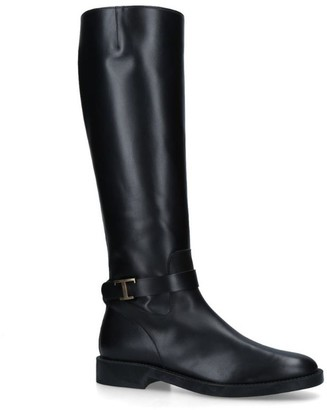 Tod's Leather Timeless Boots