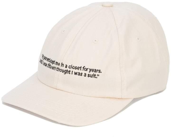 Enfants Riches Deprimes slogan embroidered cap