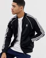 Adidas Originals Adicolor Track Jacket In Black Cw1256