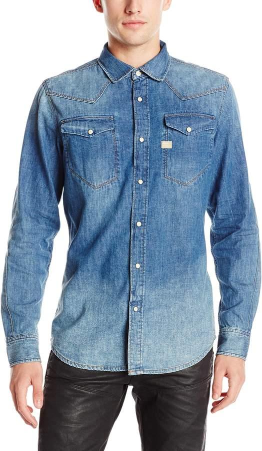 G Star Men's Tacoma Shirt Long Sleeve
