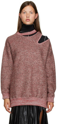 Toga Red Cut-Out Sweater