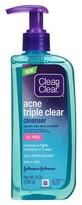 Clean & Clear Acne Triple Clear Cleanser - 8oz