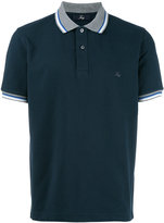 Fay striped detail polo shirt - men - Cotton - S