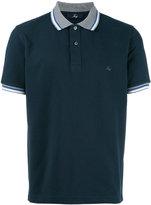 Fay striped detail polo shirt - men - Cotton - XXL