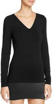 Wolford V-Neck Long Sleeve Pullover