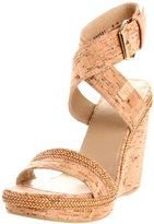 Stuart Weitzman Women's Wraptor Wedge Sandal