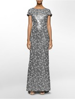 Calvin Klein Sequined Gown