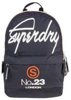 New Mens Superdry Blue International Montana Polyester Backpack Backpacks