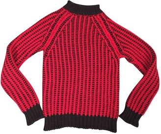 CNC Costume National Red Wool Knitwear for Women