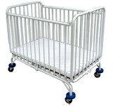L.A. Baby Baby Holiday Convertible Crib with Mattress