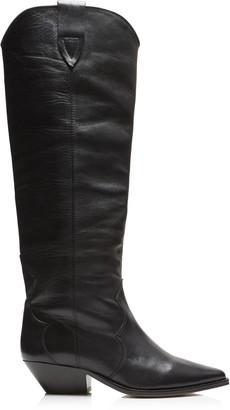 Isabel Marant Denvee Leather Knee Boots