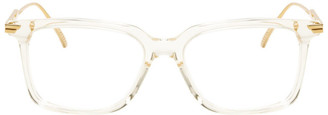 Bottega Veneta Transparent Square Glasses