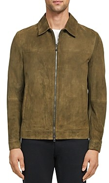 Theory Roscoe Suede Regular Fit Jacket