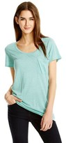 Mossimo Women's Crew Neck Micromodal Tee with Pocket