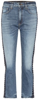 Veronica Beard Ines cropped jeans