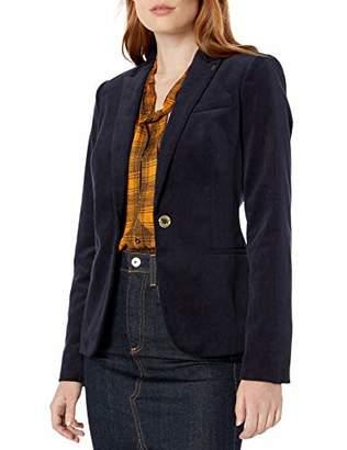 Tommy Hilfiger Women's Corduroy One Button Blazer
