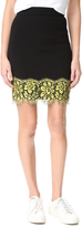 Moschino Scalloped Skirt