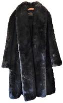 Escada Green Cotton Coat for Women Vintage