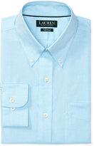 Lauren Ralph Lauren Men's Pinpoint Oxford Classic/Regular Fit Non-Iron Pink Dress Shirt