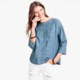 J.Crew Chambray swing top
