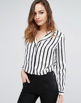 KENDALL + KYLIE Cut-out PJ Top