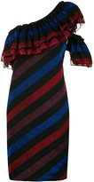 Diesel striped dress - women - Cotton/Polyester - S