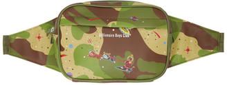 Billionaire Boys Club Green Camo Space Waist Bag