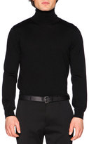 DSQUARED2 Wool Turtleneck Sweater, Black