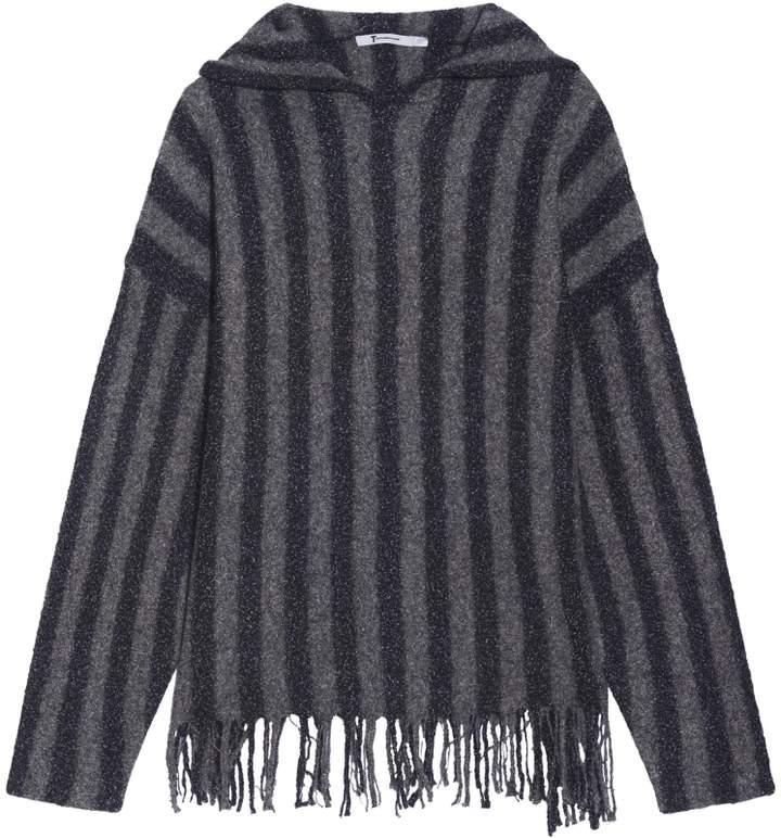 Alexander Wang Striped Hoodie Jacket