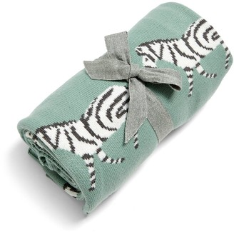 Mamas and Papas Knitted Blanket - Zebra