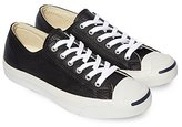 Converse Men's Jack Purcell Lea Leather / Canvas Ox Trainers Us 12 Leather